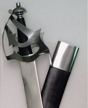 Pirate Cutlass Steel Hilt. Windlass